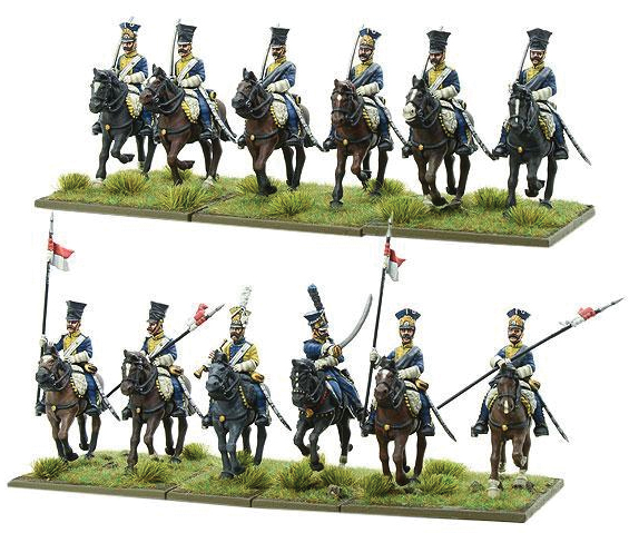 Black Powder: Polish Line Light Horse Lancers Box Front