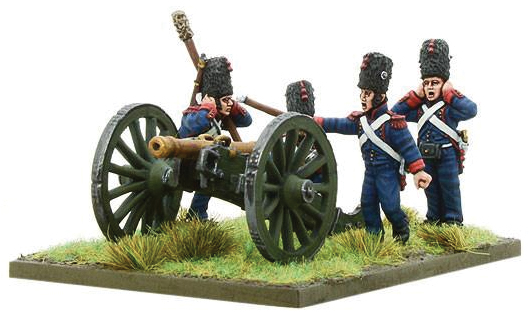 Black Powder: French Imperial Guard Foot Artillary Firing 6-pdr Box Front