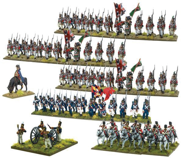 Black Powder: Napoleonic British Starter Army (peninsular Campaign) Box Front