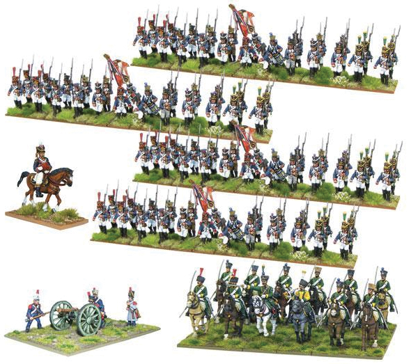 Black Powder: Napoleonic French Starter Army (peninsular Campaign) Box Front