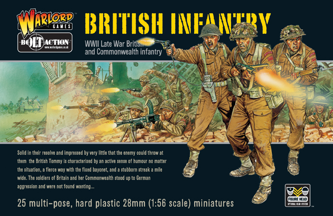 Bolt Action: British Infantry Box Front