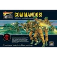 Bolt Action: British Commandos! (25) Game Box