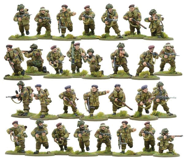 Bolt Action: British Airborne Box Front