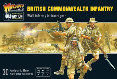 Bolt Action: British Commonwealth Infantry Game Box