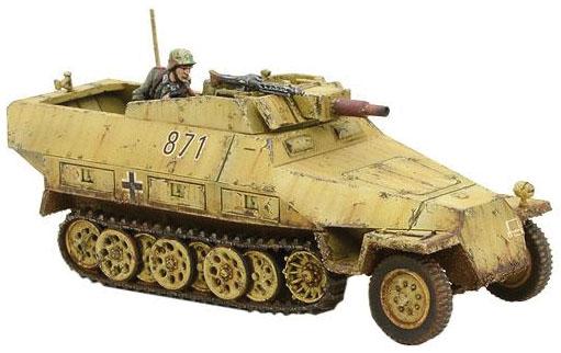 Bolt Action: German Sd.kfz 251/9 Ausf D (stummel) Half Track Game Box