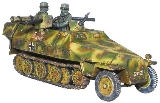 Bolt Action: Sd.kfz 251/16 Ausf D Flammenpanzerwagen Box Front