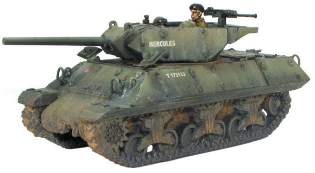 Bolt Action: M10 Tank Destroyer/wolverine Box Front
