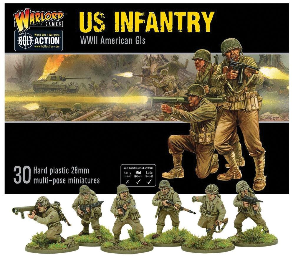 Bolt Action: Us Infantry Box Game Box