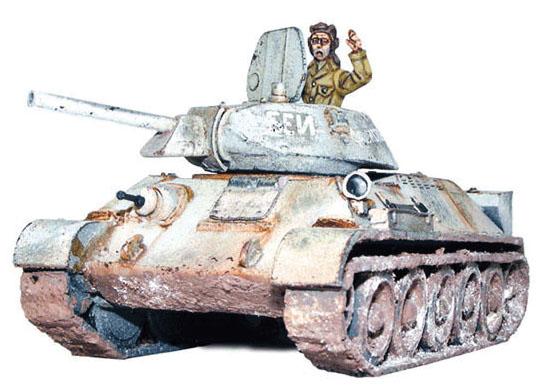 Bolt Action: T34/76 Medium Tank Box Front
