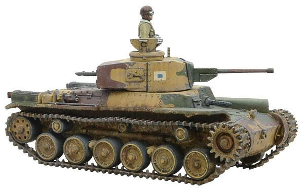 Bolt Action: Chi- Ha Japanese Tank Box Front