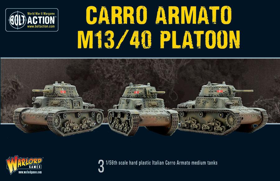 Bolt Action: Carro Armato M13/40 Platoon