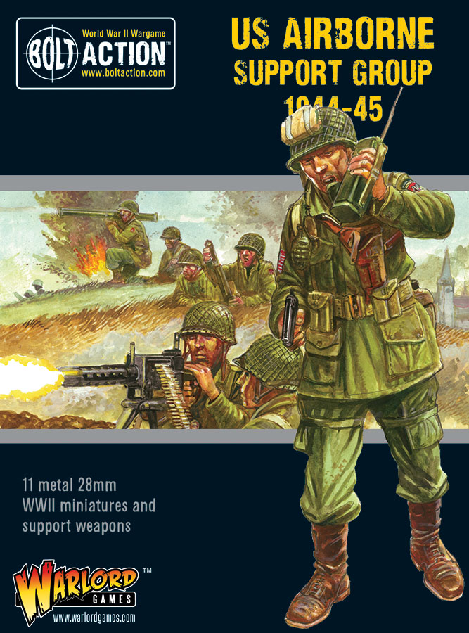 Bolt Action: Us Airborne Support Group (1944-45) Game Box