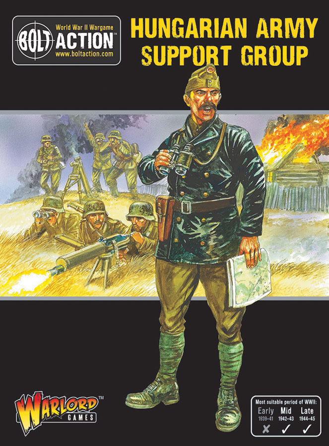 Bolt Action: Hungarian Army Support Group Game Box