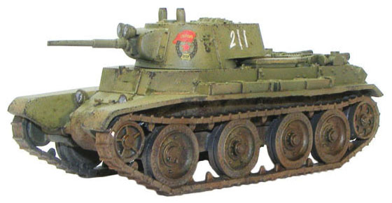Bolt Action: Soviet Bt-7 Fast Tank Box Front