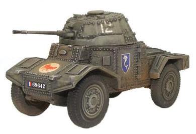 Bolt Action: Panhard 178 Armoured Car Box Front