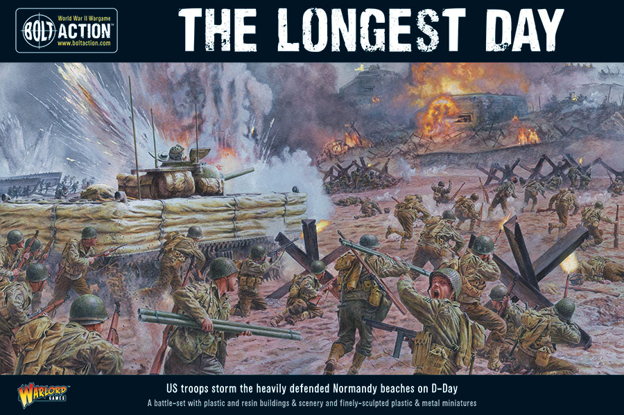 Bolt Action: The Longest Day D-day Battle Set Game Box