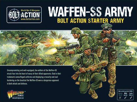 Bolt Action: German Waffen Ss Starter Army Box Front