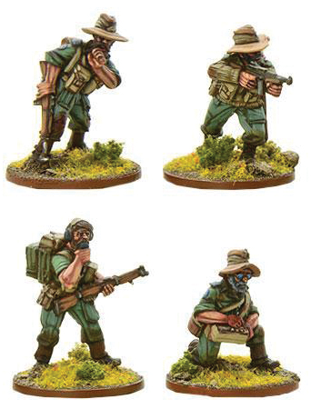 Bolt Action: British Chindit Hq (metal) Box Front