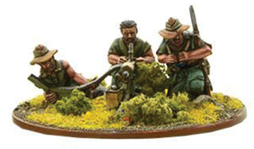 Bolt Action: British Chindit Mmg Team (metal) Box Front