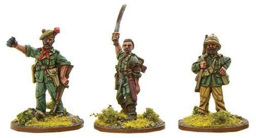 Bolt Action: British Chindit Characters (metal) Box Front