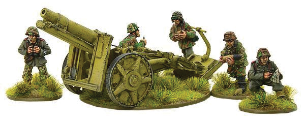 Bolt Action: German Waffen Ss Sig 33 15cm Heavy Howitzer (metal) Box Front