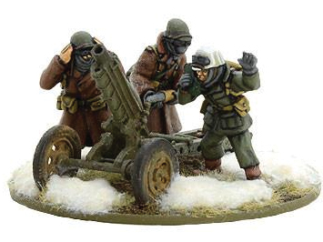 Bolt Action: Us Army 75mm Light Artillary M1a1(winter) Box Front