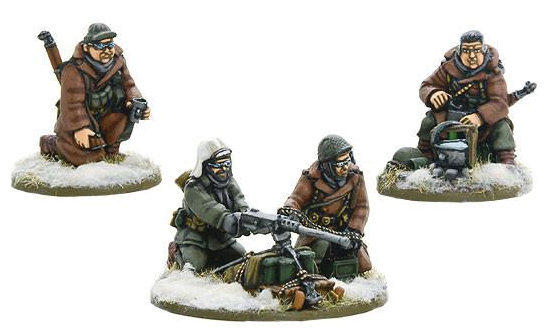 Bolt Action: Us Army 50cal Hmg Team(winter) Box Front