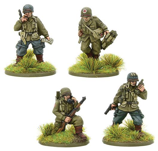 Bolt Action: Us Airborne Hq (1944-45) Box Front