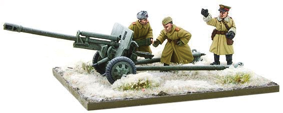 Bolt Action: Soviet Zis-3 Divisional Gun (winter) Box Front