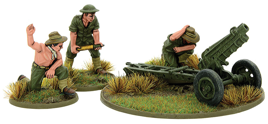 Bolt Action: Australian 75mm Pack Howitzer (pacific) Game Box