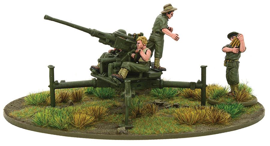 Bolt Action: Australian 40mm Bofors Aa Gun (pacific) Game Box