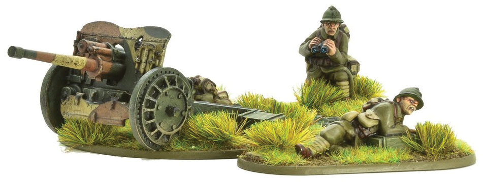 Bolt Action: French Army 47mm Medium Anti-tank Gun Game Box