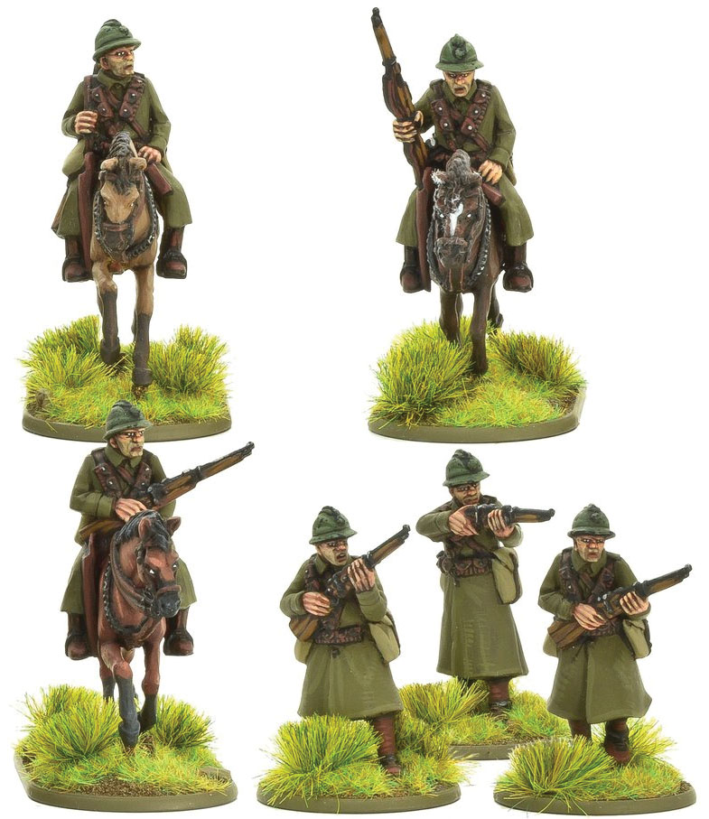 Bolt Action: French Army Cavalry (a) Game Box