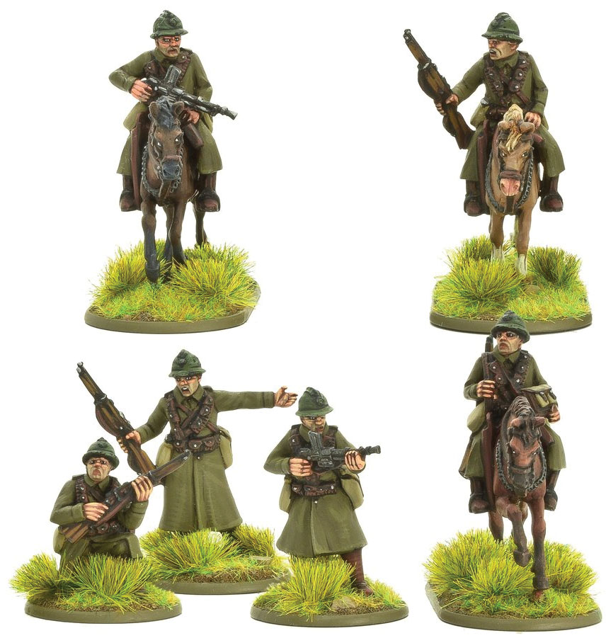 Bolt Action: French Army Cavalry (b) Game Box