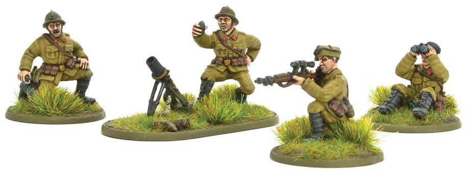 Bolt Action: Belgian Army Light Mortar & Sniper Teams Game Box