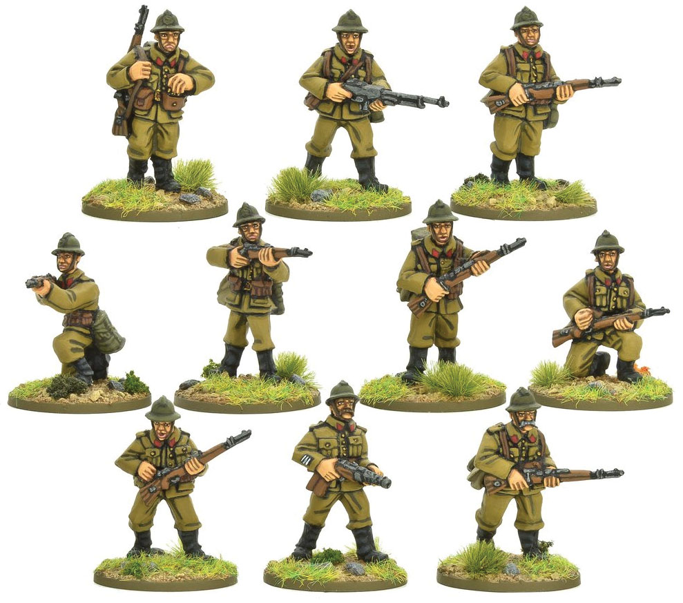 Bolt Action: Belgian Army Infantry Squad Game Box