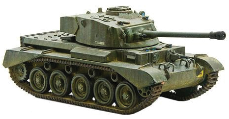 Bolt Action: British A34 Comet Heavy Tank Box Front