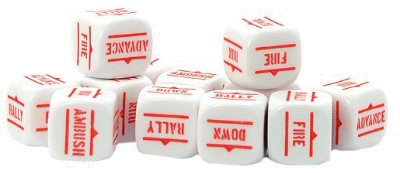 Bolt Action: Orders Dice Packs - White (12) Box Front