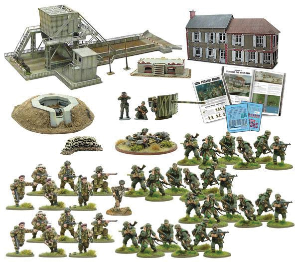 Bolt Action: Pegasus Bridge Second Edition Box Front