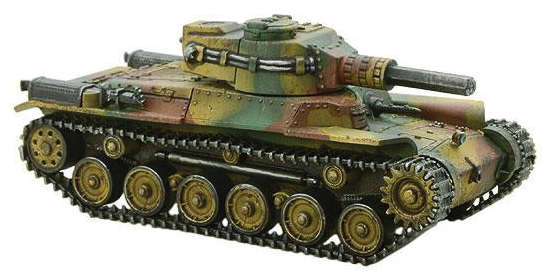 Konflikt 47: Japanese Chi-ha Medium Tank With Compression Turret Box Front