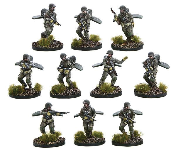 Konflikt 47: Us Firefly Jump Infantry Box Front