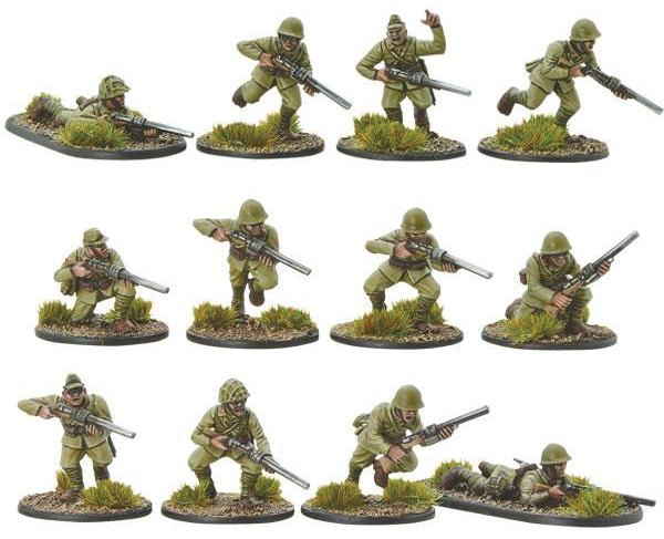 Konflikt 47: Japanese Infantry With Compression Rifles Box Front