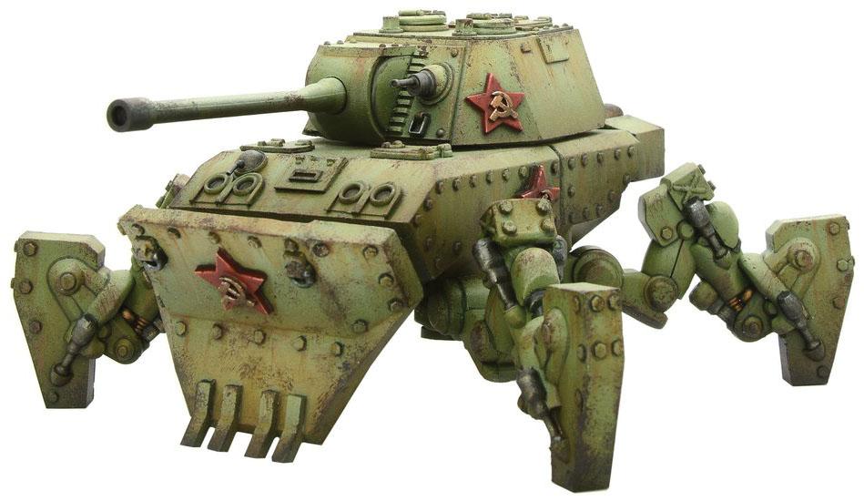 Konflikt 47: Soviet Mastadon Heavy Walker Game Box