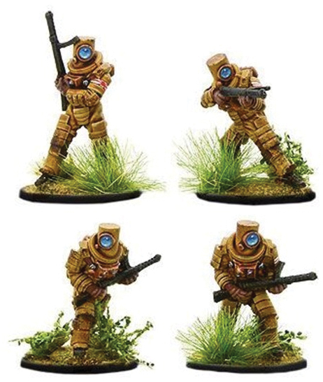 Konflikt 47: Japanese Ghost Warriors With Smg`s Box Front