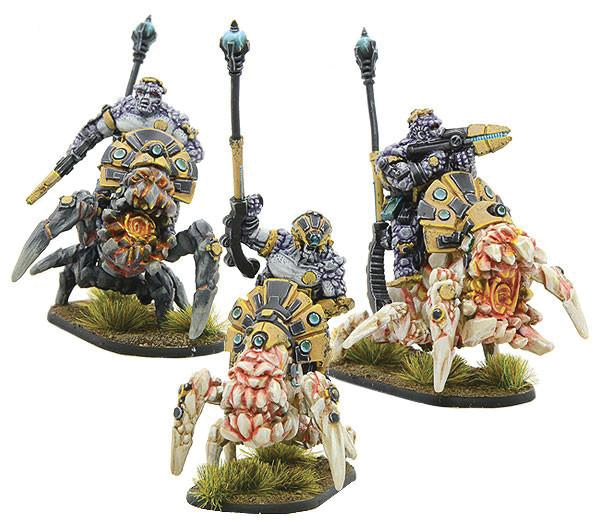 Gates Of Antares: Boromite Rock Riders Overseer Squad Box Front