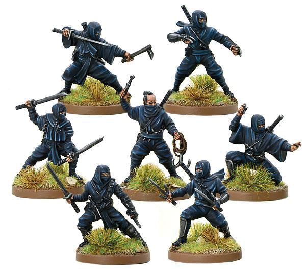 Test Of Honour: Ninjas Of Iga Box Front