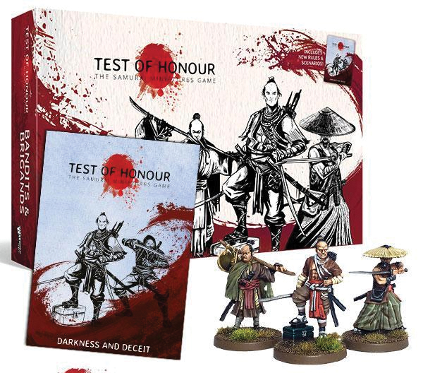 Test Of Honour: Bandits And Brigands Box Front