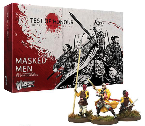 Test Of Honour: Masked Men Box Front