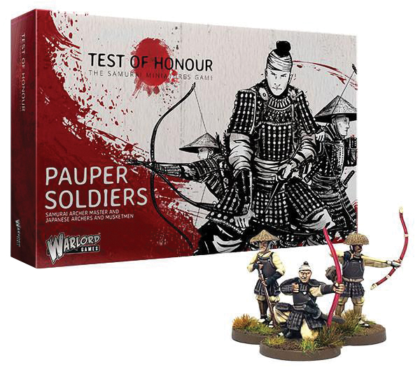 Test Of Honour: Pauper Soldiers Box Front