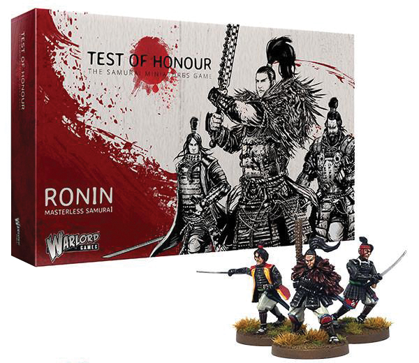 Test Of Honour: Ronin Box Front